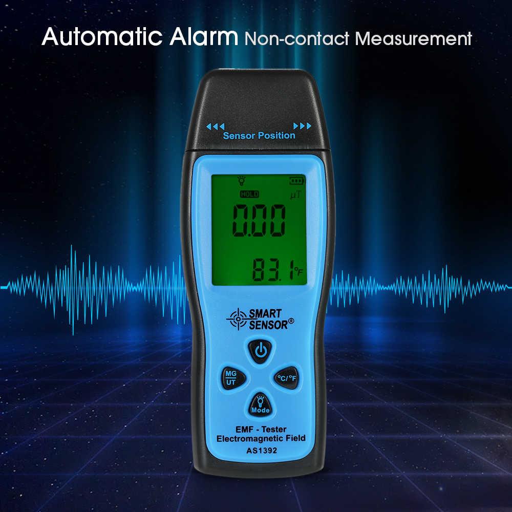 SMART SENSOR Digitale Straling Dosimeter Mini EMF Meter LCD Veld Meter Straling Detector Dosimeter emf Tester Meter Teller