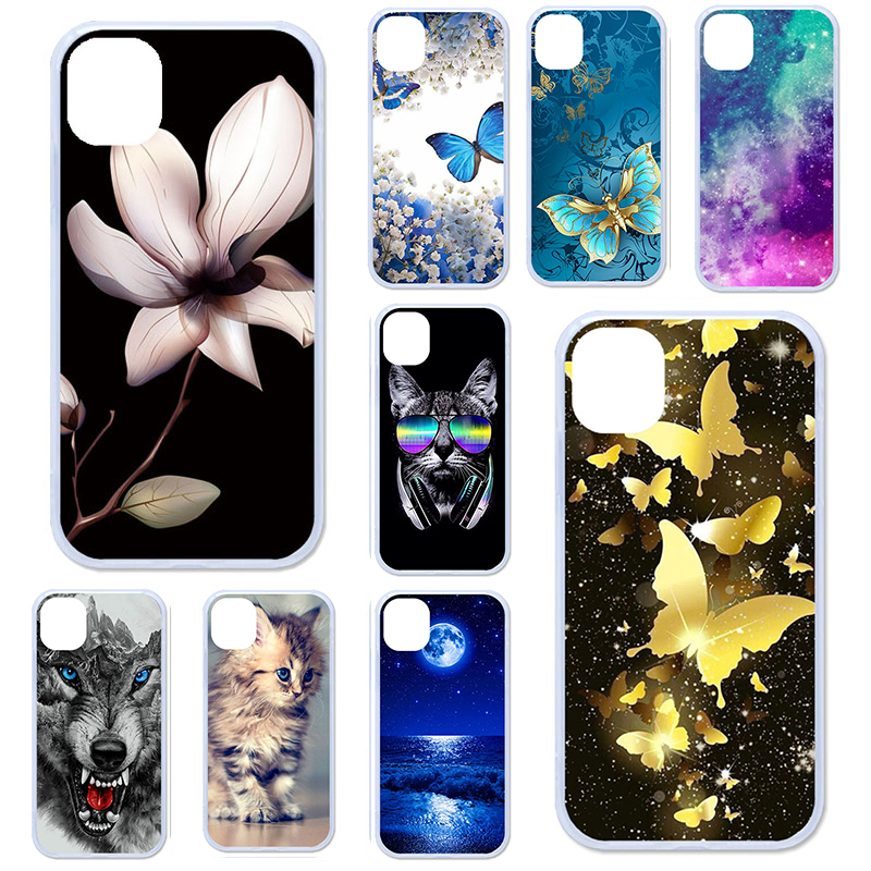 TPU Phone <font><b>Case</b></font> For <font><b>Doogee</b></font> Y8 <font><b>Case</b></font> Soft <font><b>Silicon</b></font> Floral Coque For <font><b>Doogee</b></font> N20 F5 Y8C Y6 X9 <font><b>X70</b></font> X60L X5 X30 X20 N10 Cover Skin Funda image
