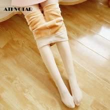 Athvotar inverno mulheres collants outono meias preto meias medias náilon meias femininas manter quente meias femininas