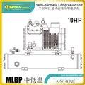 10HP с водяным охлаждением MLBP конденсаторный агрегат с полугерметичным поршневым компрессором обеспечивает мощную способность охлаждения п...