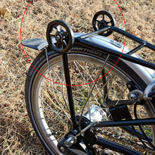 Bolts Bicycle Brompton-Wheel Aluminum-Alloy Aceoffix Easywheel Titanium Ultralight