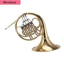 Четыре ключа двухрядный Рог F/B плоская краска золото прямые продажи с фабрики качество звука