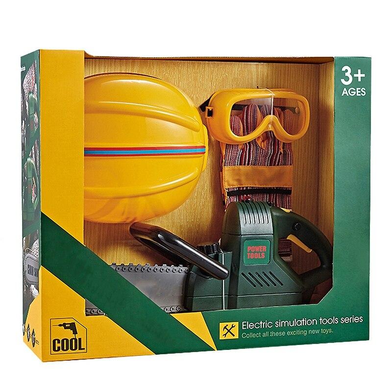 Jouets réparation outils jouets bricolage jouer maison Simulation électrique entretien éducatif ensemble de jouets pour enfants et garçons cadeaux AS167984