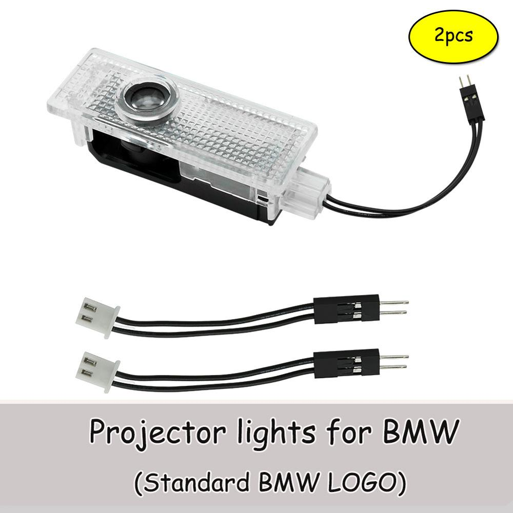 Car Door Welcome Projector LED lights for BMW E60 E90 E46 F10 Z4 E89 E85 E63 GT X1 X5 X6 X3 M3 M5 E92 F01 F30 F15 Logo Light