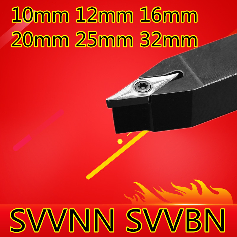 Angle 72.5 SVVBN SVVCN 1010H11 1212H11 1616H11 1616H16 2020K11 2020K16 2525M11 2525M16 3232P16 The Right/Left CNC Turning Tools