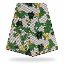 アフリカのワックスプリント生地アンカラ生地オリジナル高品質pagne印刷綿100% アフリカナイジェリアリアルpagneワックスドレス