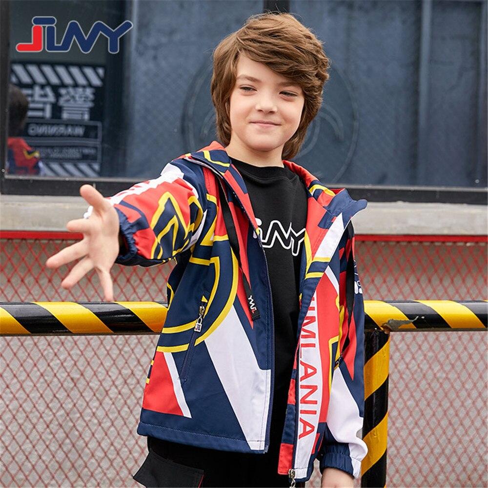 JLNY/Модная детская верхняя одежда; спортивная куртка; водонепроницаемая ветрозащитная толстовка с капюшоном; пальто для мальчиков; детская одежда на весну и осень; От 5 до 13 лет|Куртки и пальто| | АлиЭкспресс