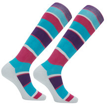 Векторные зимние теплые лыжные носки для мужчин и женщин из