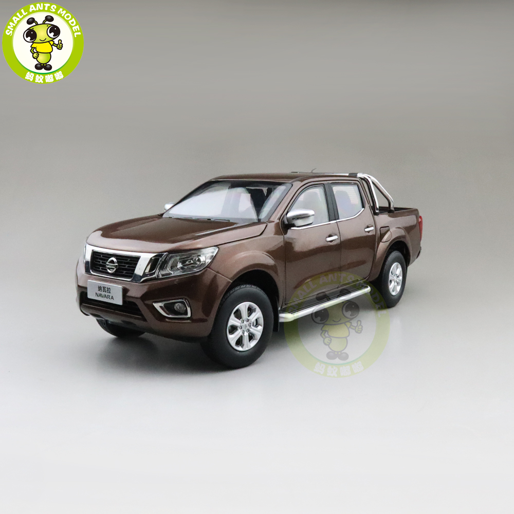 1/18 NAVARA Truck Pickup Suv Diecast Metal Model Car Toys Boys Girls Gifts