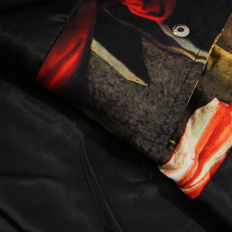 Men Hip Hop Jacket Streetwear Ancient Life Retro Vintage Jacket Windbreaker Harajuku 2019 Autumn Jacket Coat Street Wear Hipster