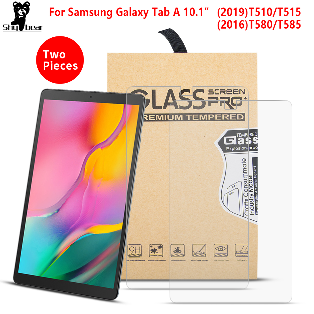 Samsung Galaxy Tab A 10.1 SM-T510 //T515 Tempered Glass Screen Protector 2 Pack