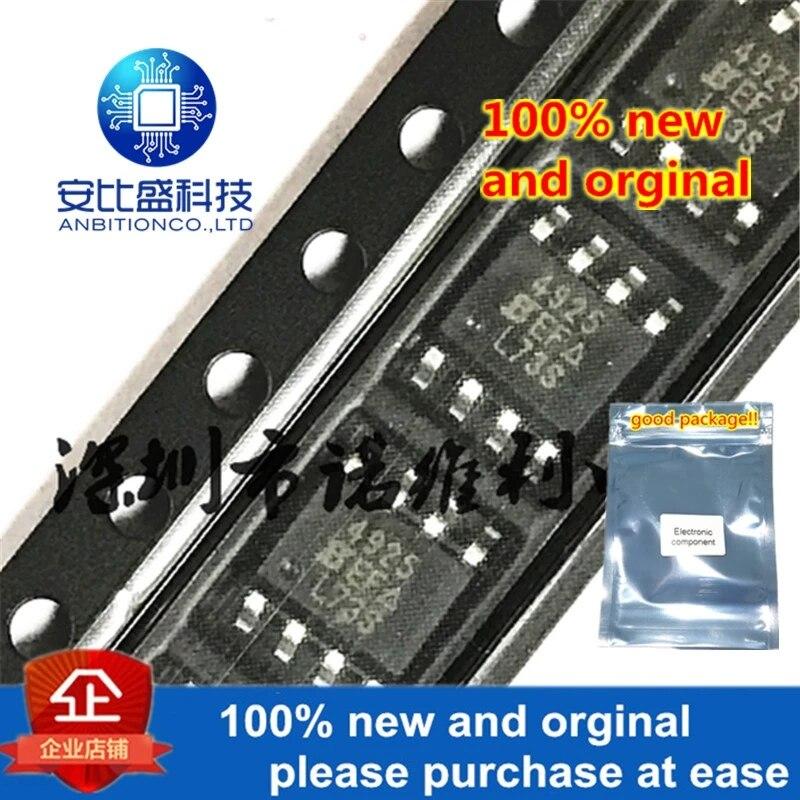 10pcs 100% New And Orginal SI4925DY-T1-E3 SOP-8 SI4925 P 4925 30V 6A MOS In Stock