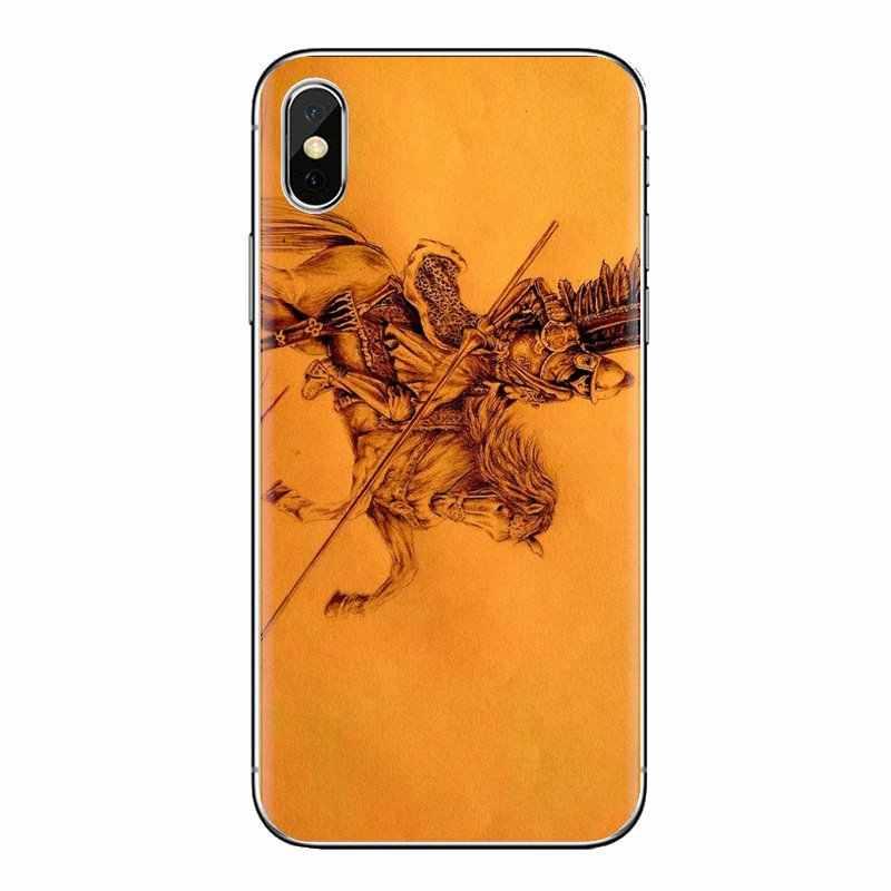 Casos Para iPhone 5 XS Max XR X 4 4S 5S 5C SE 6 6S 8 Além de 7 Samsung galaxy J1 J3 J5 J7 A3 A5 Polónia Winged Hussar Rei Grande Duque