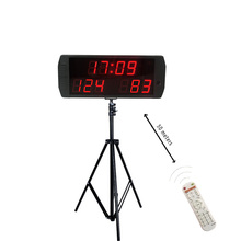 Big indoor portable  electronic soccer scoreboard led digital sports with stand