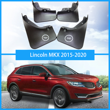 For Lincoln MKX Mud Flap car fender Mudguard splash guards Car styling auto accessories 2015-2020