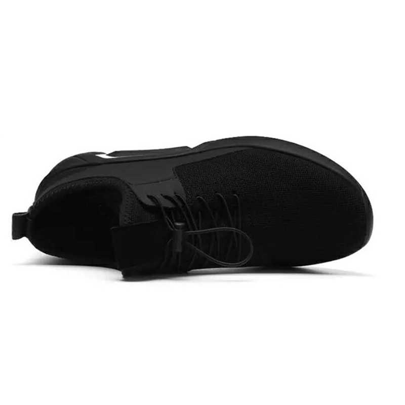 Erkekler rahat ayakkabılar yaz nefes örgü Sneakers dantel-up eğitmenler rahat 2019 kadın erkek düz spor ayakkabılar