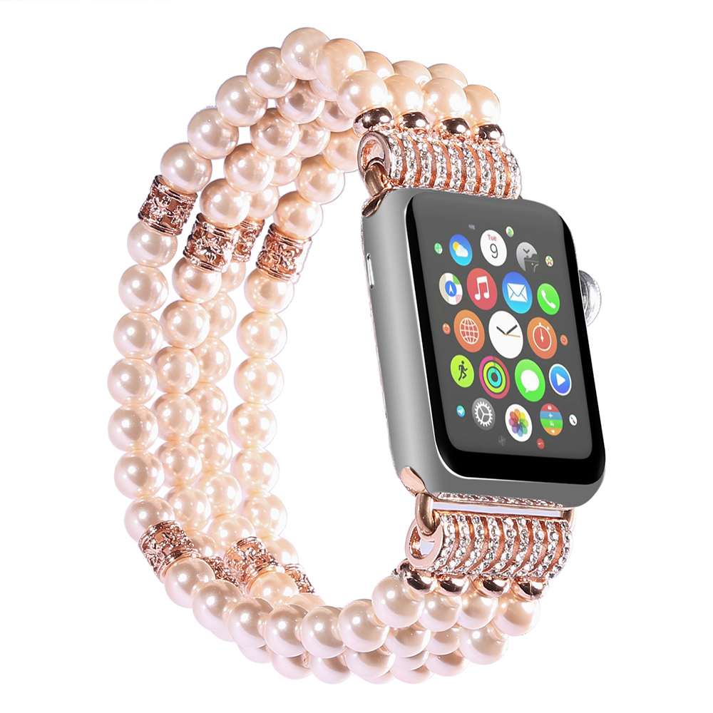 Pearl Strap Band for Apple Watch 24