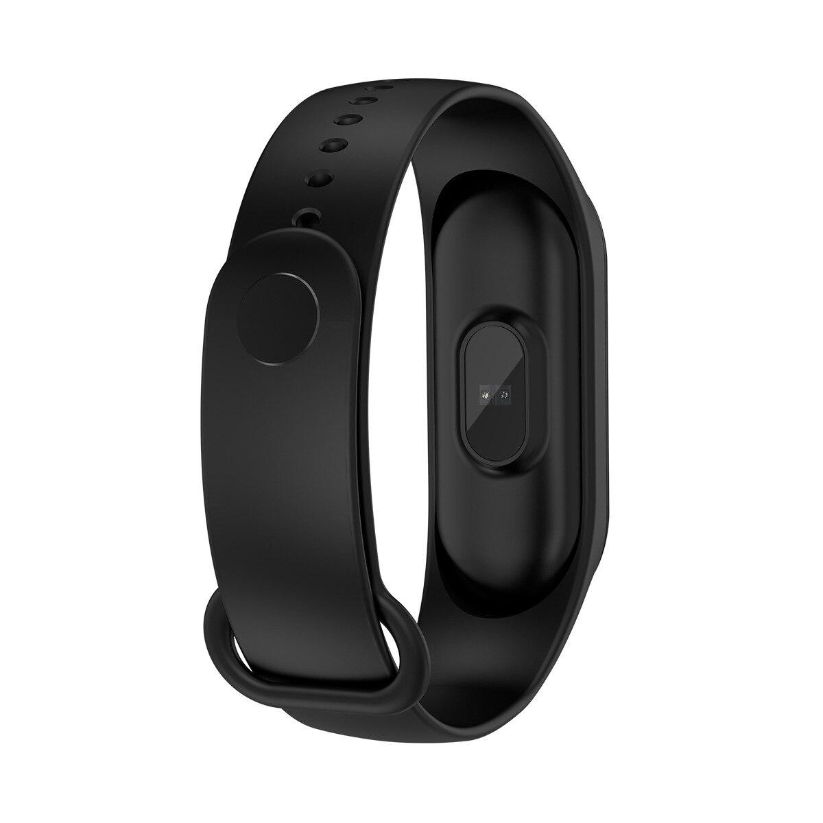 Hf100e30b56f7476882756030e8e499c2A New M4 Smart Band Fitness Tracker Smart Watch Sport Smart Bracelet Heart Rate Blood Pressure Smartband Monitor Health Wristband