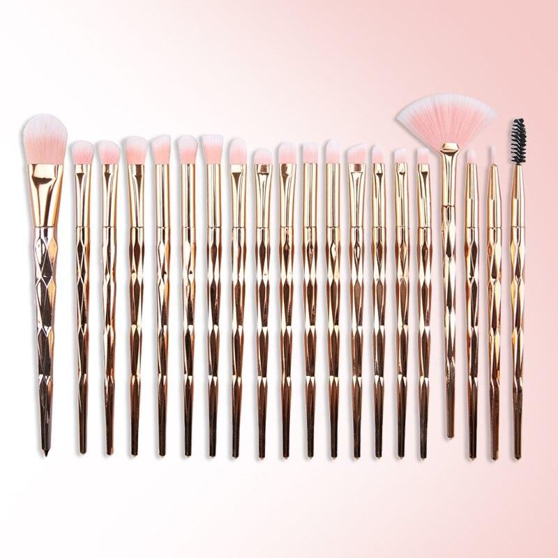20 Pcs Makeup Brushes Set Eye Shadow Foundation Powder Eyeliner Eyelash Lip Make Up Brush Cosmetic Beauty Tool Kit Hot Pincel