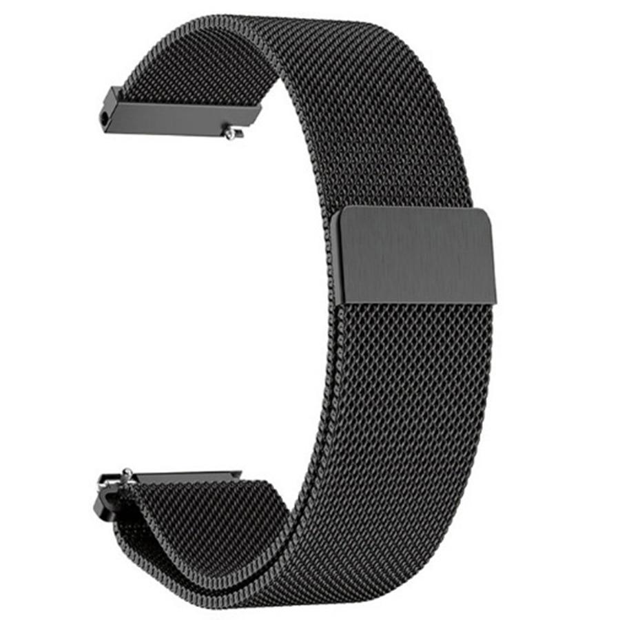 20mm Milanese Magnetic Loop Stainless Steel Bracelet For Xiaomi Huami Amazfit GTS Smart Watch  Metal Watchband