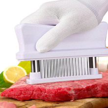 Профессиональные 48 шт. иглы из нержавеющей стали для размягчения мяса кухонные инструменты для приготовления мяса молоток