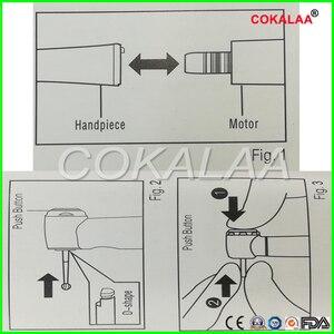 Image 5 - COKALAA dentale TI MAX X95L dentale 1: 1 manipolo contranangolo crescente manipolo Push anello rosso