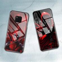 Capa de vidro temperado para huawei p20, capa genuína para celular huawei mate 10 pro 20 lite v9 v10