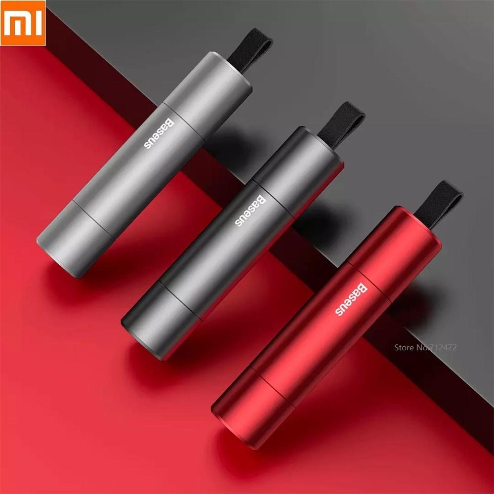 Xiaomi Aluminum Alloy Safety Hammer Emergency Car Hammer Glass Breaker Seatbelt Sharp Cutter Window Escape Blade