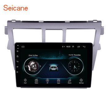 Seicane 2din Android 8.1 9 Inch Car wifi GPS Navigation Radio Multimedia Player For 2007 2008 2009 2010 2011 2012 Toyota VIOS