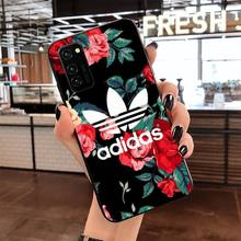 luxury brand letter label Phone Case Cover for Samsung S20 p