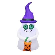 1,2 м Хэллоуин надувной призрак страшный для Хэллоуина дома украшения для двора сцены реквизит