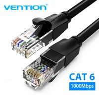 Vention-Cable Ethernet Cat6 Lan, Cable de red UTP CAT 6, RJ 45, 1m/2m/3m/5m, Cable de conexión para enrutador de portátil, Cable de red RJ45