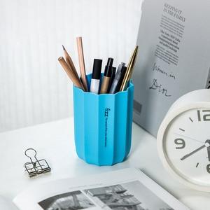 Image 2 - 3 farben Youpin Youpin Fizz Rand Serie Stift Halter Büro Organizer Desktop Stift Halter Make Up Pinsel Kunststoff Container Home