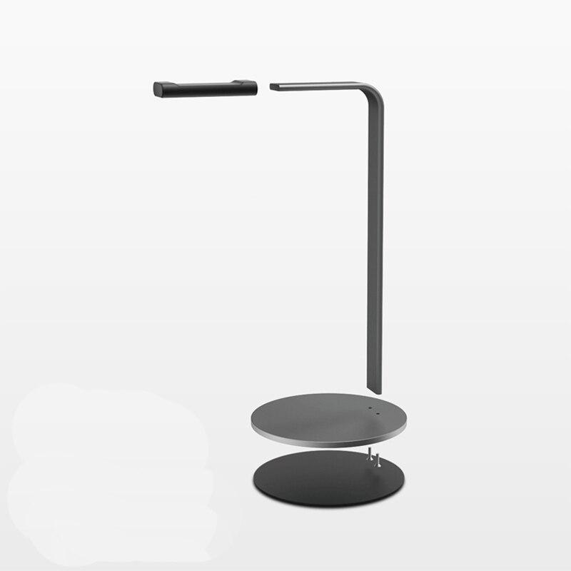Купить с кэшбэком Manderm Fashion Aluminium Alloy Earphone Headset Stand Holder Desktop Headphone Net Bar Home Use Universal Display Rack Bracket