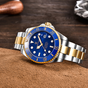 Image 4 - PAGANI DESIGN reloj mecánico automático de lujo para hombre, de pulsera, resistente al agua, de acero inoxidable, Masculino