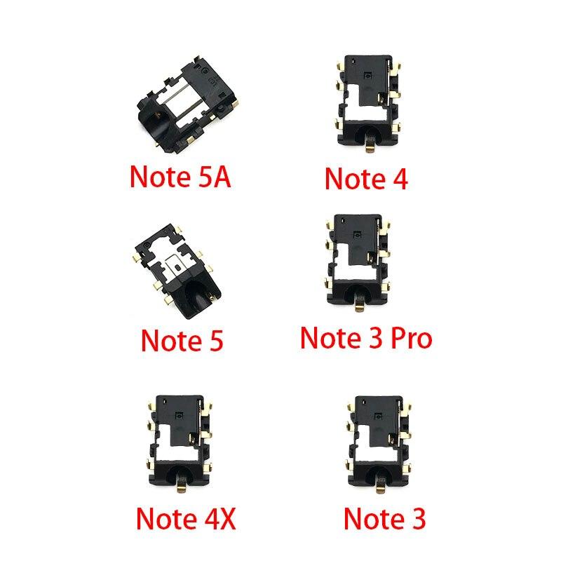 2Pcs/Lot, Earphone Ear Phone Headphone Audio Jack Plug Audio Connection For Xiaomi Redmi Note 3 4 5 5A 6 7 8 Pro Repair Part