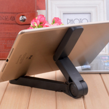 купить Tablet Stand Moblie Phone Holder Portable Universal Adjustable Desktop Stand For iPad iPhone Huawei Xiaomi Samsung дешево