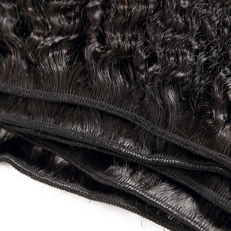 Rosabeauty Kinky Straight 8 - 28 30 Inch 3 4 Bundles   Hair 100%  s Double Drawn 6