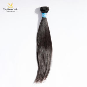 Virgin-Hair Straight Beauty MFH Mixed-Length Natural-Color 1/2/3/4-bundles 100%Unprocessed