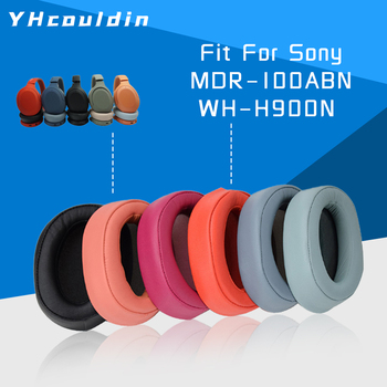 Replacement Earpads Ear Pad For Sony MDR 100ABN MDR-100ABN WH H900N WH-H900N Headphone Accessaries yhcouldin ear pads for sony mdr cd570 mdr cd570 headphone replacement earpads ear cushions cups