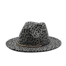 Женские шапки головной убор с узором снежного барса ремнем и
