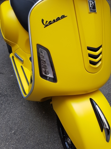 LED Front Turn Signal Light(clear Lens) For Vespa Gts 300