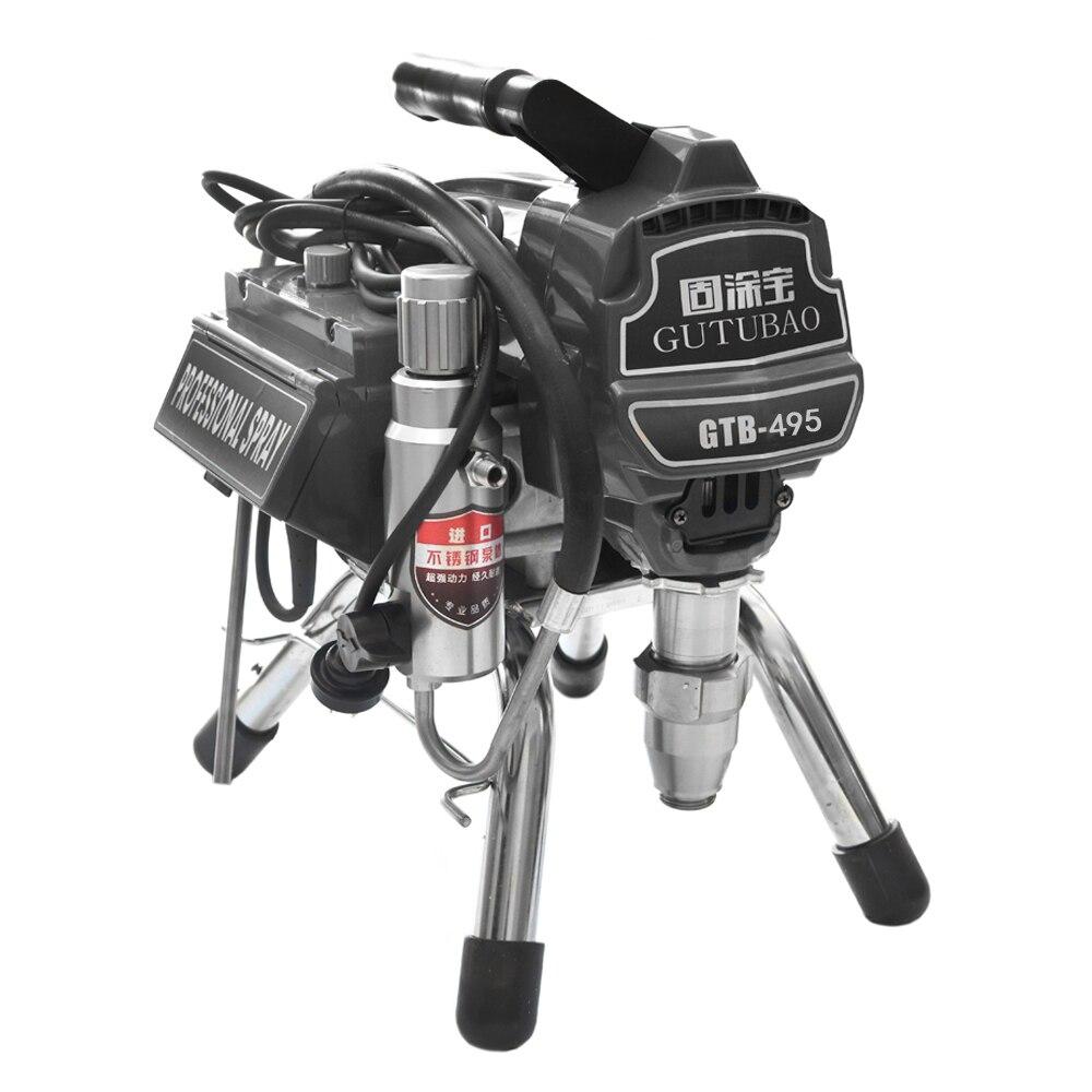 Professional airless spraying machine Professional Airless Spray Gun 2500W 2 5L Airless Paint Sprayer 495 painting machine tool
