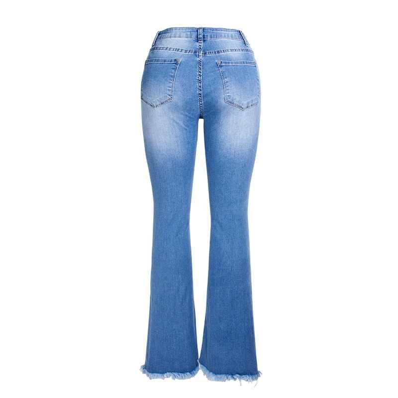 Spring Summer Women Cotton Denim Jeans Pants Low Waist Embroidered Flares Jeans Women Casual Split Vintage Jean Trousers Jumper
