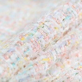Tela de tweed suave colorida de la diosa de la Luna para...