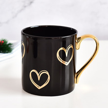1Pcs Personalized Scissors Mug Creative Gold Handle Ceramic Cup Office Water Home Coffee Classic
