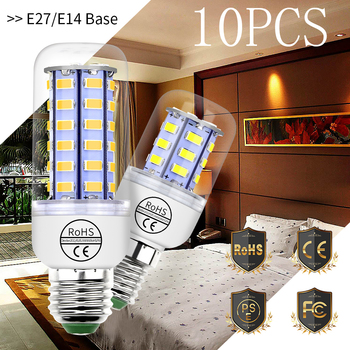 220V GU10 Led Lamp Bulb E14 Led Candle Light Bulb E27 Corn Lamp G9 Led 3W 5W 7W 9W 12W 15W Bombilla B22 Chandelier Lighting 240V image