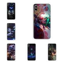Kindred Poppy LOL Games For iPhone XS Max XR X 4 4S 5 5S 5C SE 6 6S 7 8 Plus Samsung Galaxy J1 J3 J5 J7 A3 A5 Phone Housing Case(China)