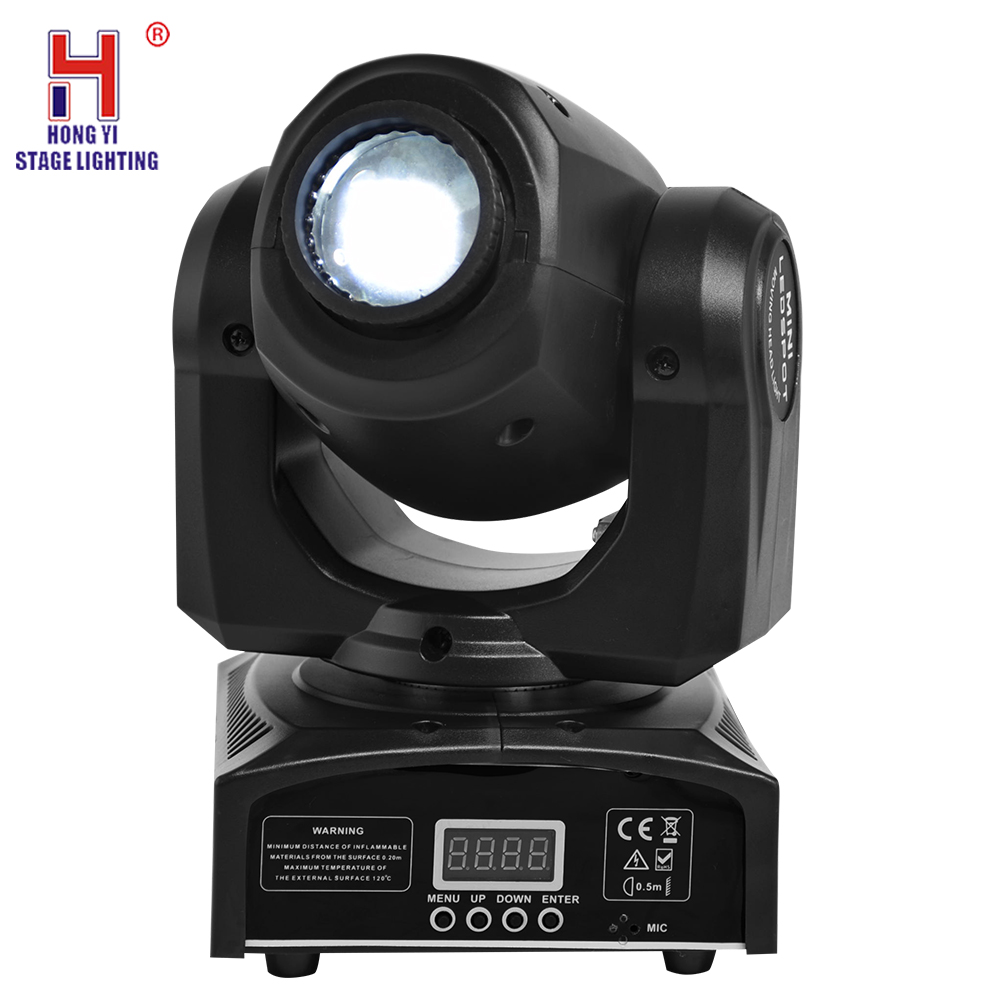 led mini moving head 30W sport light with 7 gobos lights moving di lighting effect