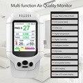 Detector de ar de ozônio formaldeído usb medidor de ozônio lcd display digital o3 monitor de qualidade do ar poluição do ar ulti-função detecter